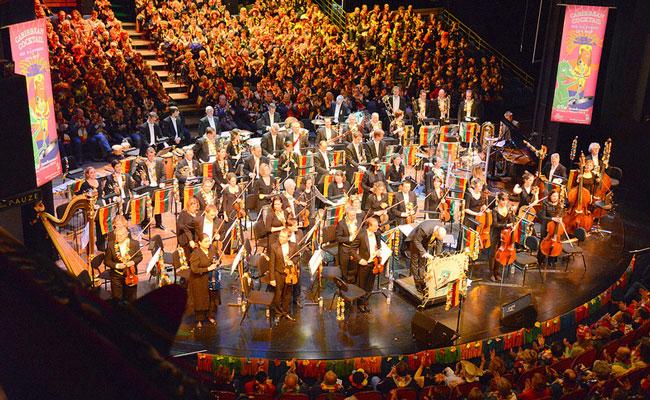 Oetelkonzert het orkest