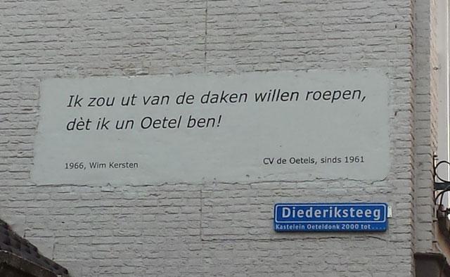 Gedicht CV de Oetels